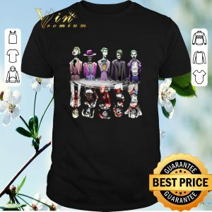 Premium Joker reflection mirror water Harley Quinn shirt sweater