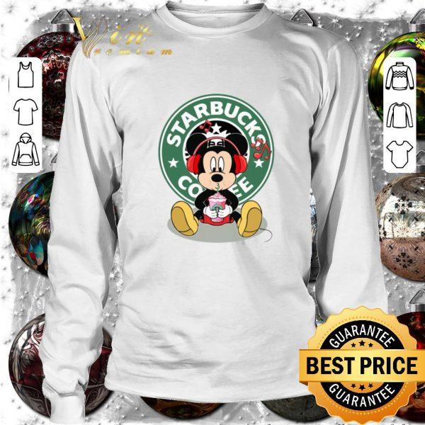 Premium Mickey drink Starbucks coffee shirt