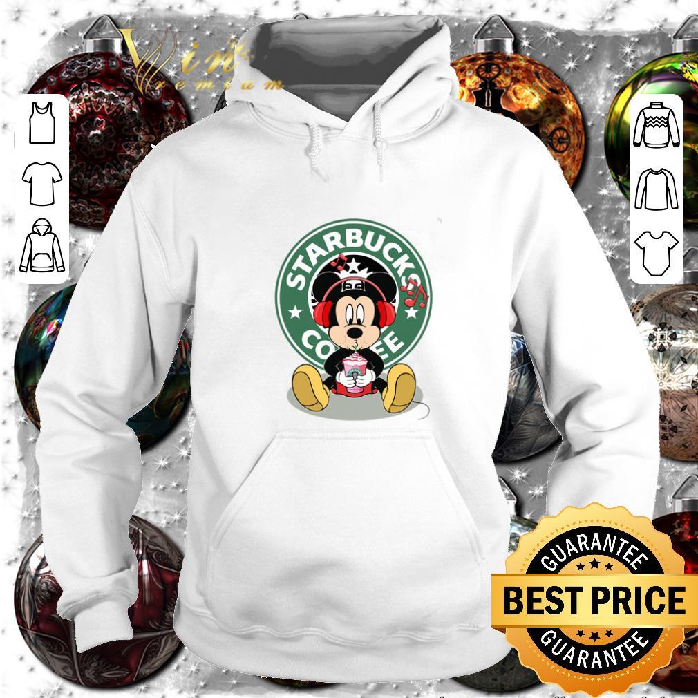 Premium Mickey drink Starbucks coffee shirt 4 1 - Premium Mickey drink Starbucks coffee shirt