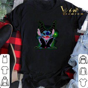 Pretty Maleficent Stitch witch shirt sweater