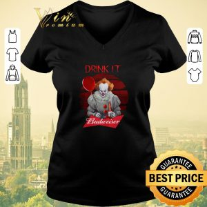 Pretty Pennywise drink IT Budweiser shirt sweater