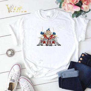 Santa Claus playing drummer shirt sweater