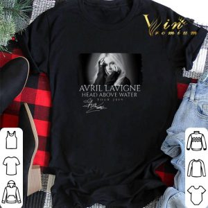 Signature Avril Lavigne Head Above Water Tour 2019 shirt