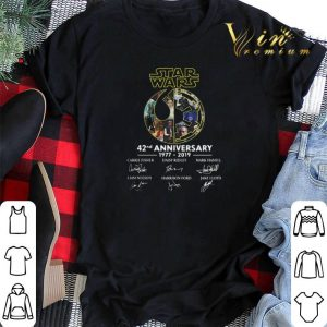 Signatures Star Wars Rebel Alliance 42nd Anniversary 1977-2019 shirt