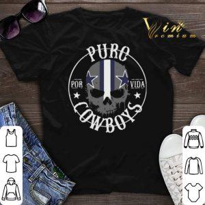Skull Puro Por Vida Dallas Cowboys shirt sweater