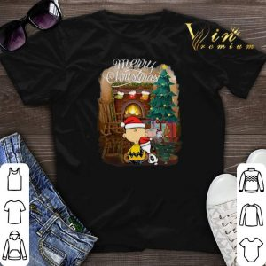 Snoopy Charlie Brown merry Christmas shirt sweater