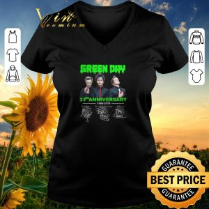 Top Signatures Green Day 33rd anniversary 1986-2019 shirt