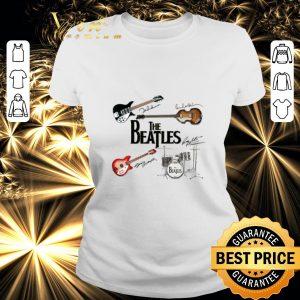 Top The Beatles Guitars Instrument Signatures shirt 1