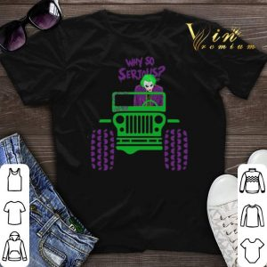Why so serious Joker Jeep shirt sweater