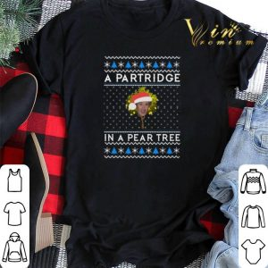 Alan Partridge In a pear tree Christmas shirt sweater