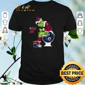 Awesome 49ers Grinch Santa Cardinals LA Rams Toilet Seattle Seahawks shirt sweater