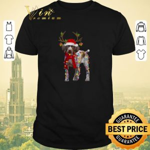 Awesome German Shorthaired Pointer reindeer Christmas shirt sweater