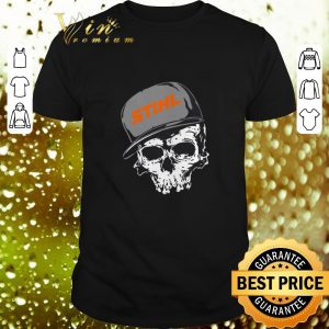 Awesome Stihl logo skull hat shirt