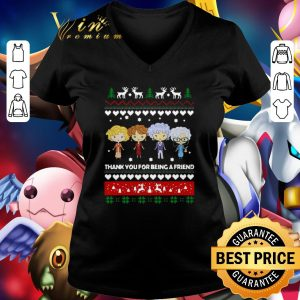 Best Golden Girls thank you for being a friend ugly christmas shirt