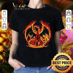 Best Pokemon Charizard Charmeleon Charmander shirt