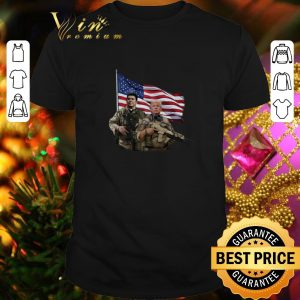 Best Presidential soldiers Ronald Reagan and Donald Trump USA flag shirt