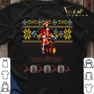 Captain Morgan ugly Christmas shirt sweater 2