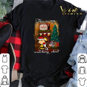 Charlie Brown Snoopy This is my Hallmark Christmas movie watching shirt sweater