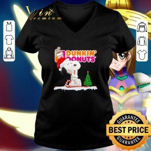 Cheap Snoopy drink Dunkin' Donuts Christmas shirt