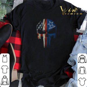 Dallas Cowboys American Flag Punisher Skull shirt sweater
