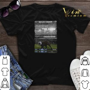 Dallas Cowboys Black cat Metlife stadium player of the game shirt