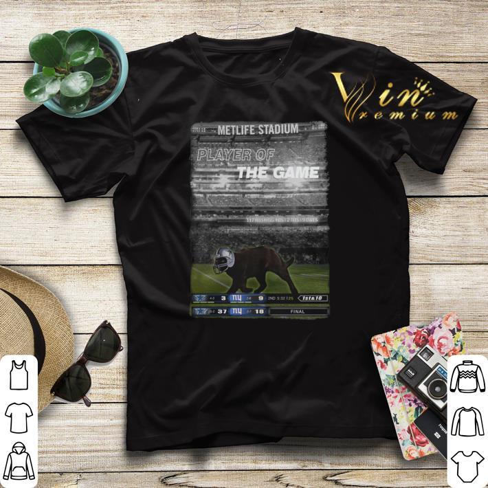 Dallas Cowboys Black cat Metlife stadium player of the game shirt 4 - Dallas Cowboys Black cat Metlife stadium player of the game shirt