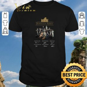Funny Downton Abbey all character signatures shirt 2020