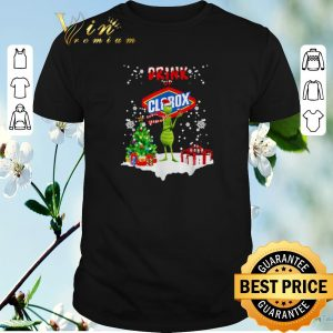 Funny Grinch drink up Clorox Christmas shirt sweater