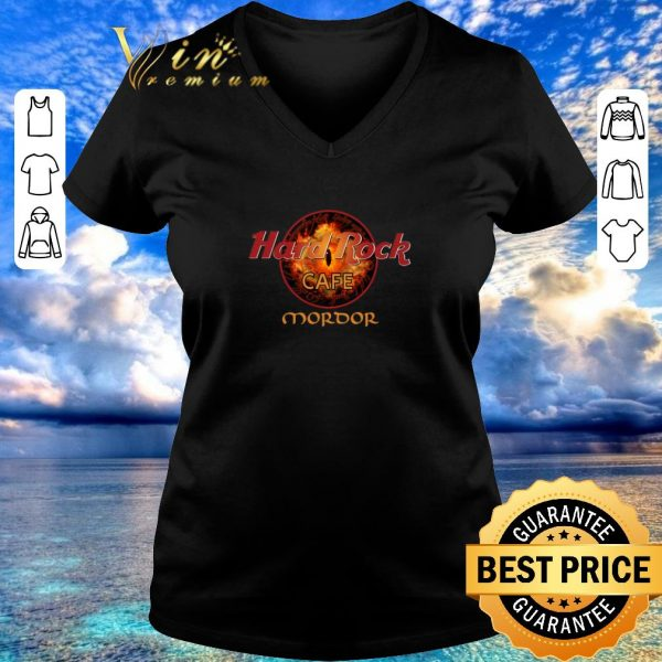 Funny Hard Rock Cafe Mordor shirt 2020