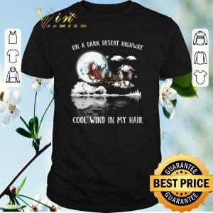 Funny Santa Reindeer On A Dark Desert Highway Cool Wind In My Hair shirt sweater