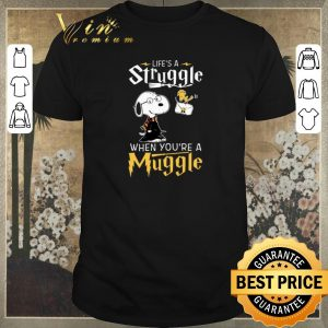 Funny Snoopy Potter life's a struggle when you're a muggle shirt sweater