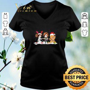 Funny Star Wars chibi Christmas Princess Leia Hans Solo Chewbacca shirt sweater