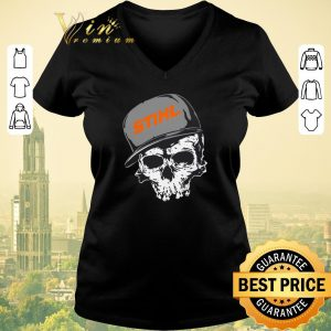 Funny Stihl logo skull hat shirt sweater