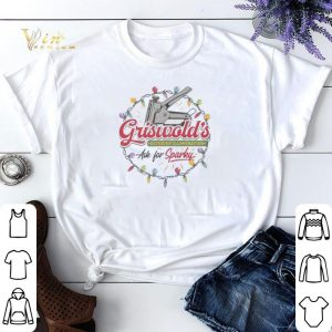 Griswold's Exterior Illumination ask for sparlky Christmas shirt sweater