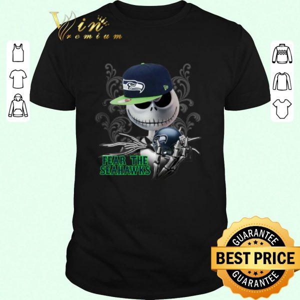 Hot Jack Skellington fear the Seattle Seahawks shirt sweater