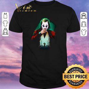 Hot Joker Joaquin Phoenix Put on a happy face shirt sweater