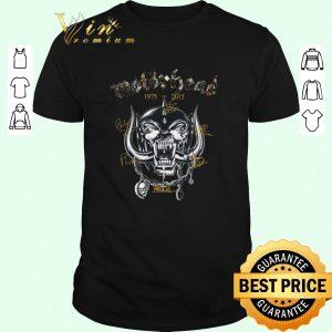 Hot Motorhead 1975-2015 signatures shirt sweater 2019