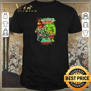 Hot Mountain Dew Avengers Marvel shirt sweater