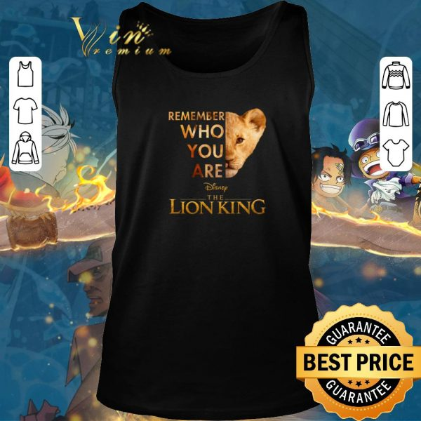 Hot Simba Remember who you are Disney The Lion King shirt sweater 2019