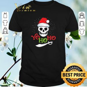 Hot Skull Yo Ho Ho Pirate Boat Cruise Christmas shirt sweater