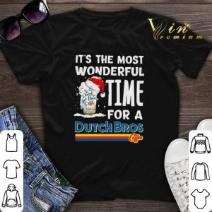 It's the most wonderful time for a Dutch Bros Coffee shirt sweater