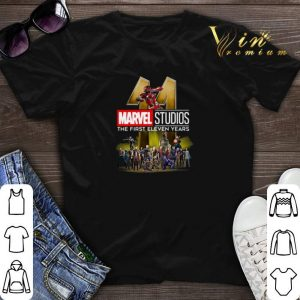 Marvel Studio The First Eleven Years shirt sweater