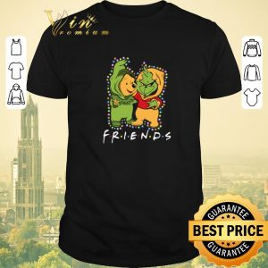 Nice Friends Grinch and Pooh Christmas light shirt sweater