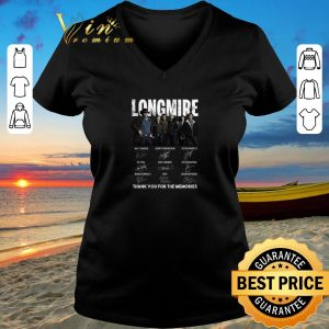 Nice Longmire signatures thank you for the memories-Recovered shirt sweater 2019