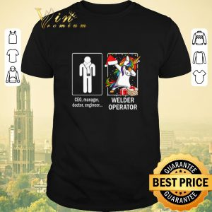 Official Ceo manager doctor engineer and unicorn Welder Operator shirt sweater