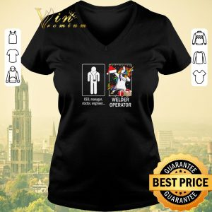 Official Ceo manager doctor engineer and unicorn Welder Operator shirt sweater 1