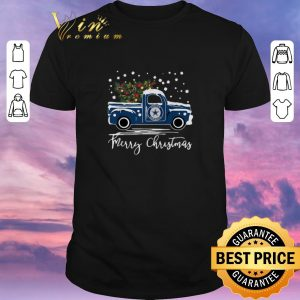 Official Dallas Cowboys truck Merry Christmas shirt sweater