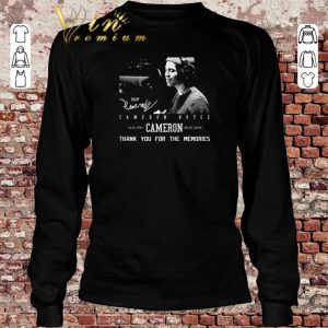 Official Rip Cameron Boyce 1999-2019 signature thank you for the memories shirt sweater 2019