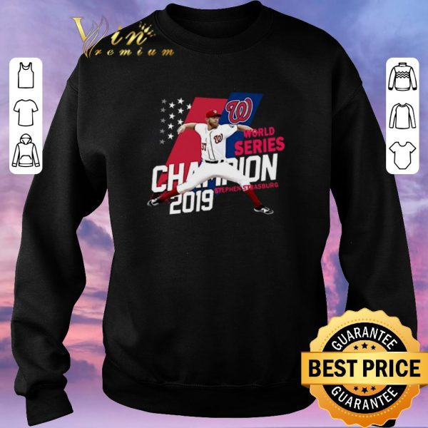 Official Stephen Strasburg Washington Nationals Champions 2019 shirt sweater