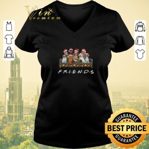 Original Christmas Girl and Dogs Friends shirt
